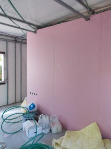 סגירת קירות גבס