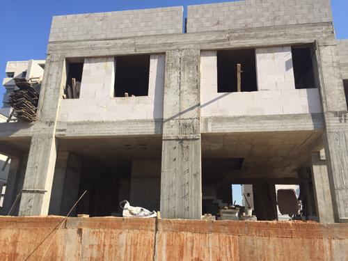 """תמונה של בית פרטי שצולמה ע""""י מפקח בניה במהלך פיקוח באתר"""